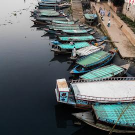 খেয়া ঘাটের জীবন চিত্র by Azmirul Morsalehin Tanzil - Transportation Boats