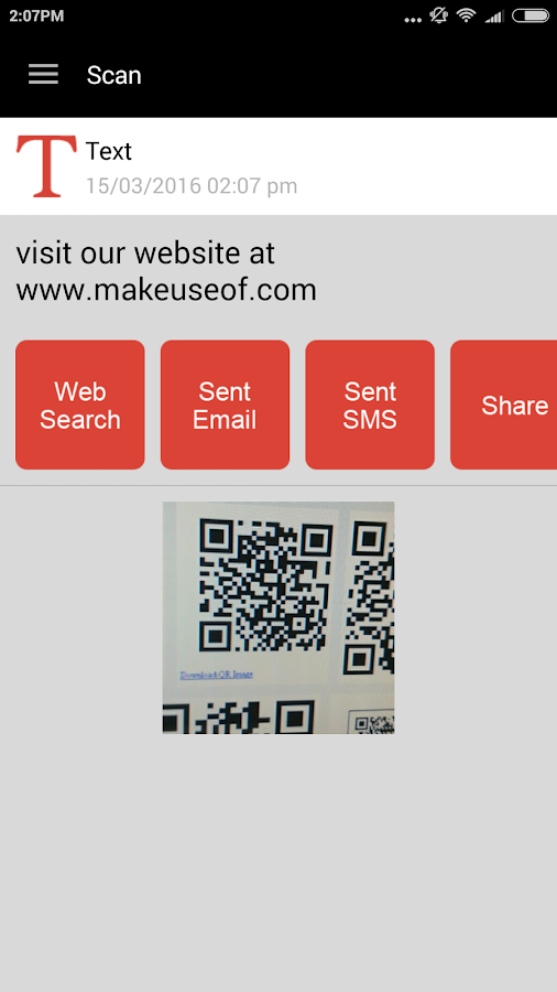 QR Code Reader PRO Screenshot 5