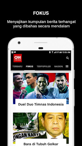 CNN Indonesia - Latest News screenshot 3