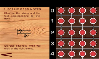 Screenshot of Electric Bass Notes
