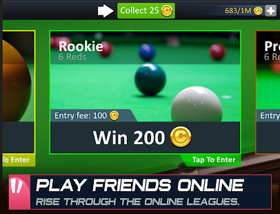 Snooker Stars Screenshot