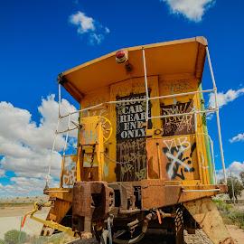 Journey's End by Ralph Resch - Transportation Trains ( train )