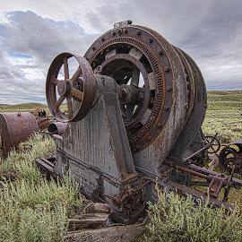 Bodie Generator by Mark Franks - Artistic Objects Industrial Objects ( industrial, bodie, rusty, abandoned )