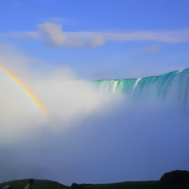 Niagara Falls by Robin Stover - Landscapes Waterscapes