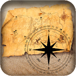 Compass With Maps & Directions Icon