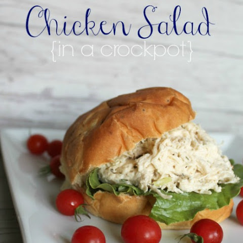 Chicken Salad {in a crock-pot}