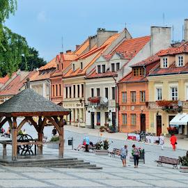 Sandomierz by Tomasz Budziak - City,  Street & Park  Historic Districts ( poland, city )