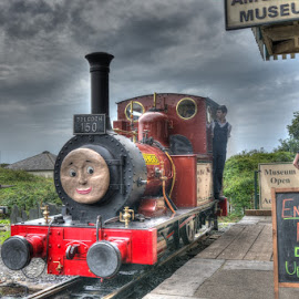 Skarloey Railway - Rheneas by David Garnett - Transportation Trains ( skarloey railway, dolgoch, tywyn wharf, rheneas, narrow gauge, talyllyn railway )