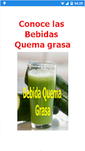 Bebida Quema Grasa - screenshot