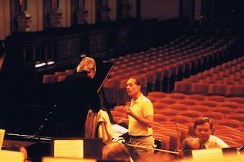 Rehearsing with Giulini and the Vienna Philharmonic, Muzikverein, 1993 (2)