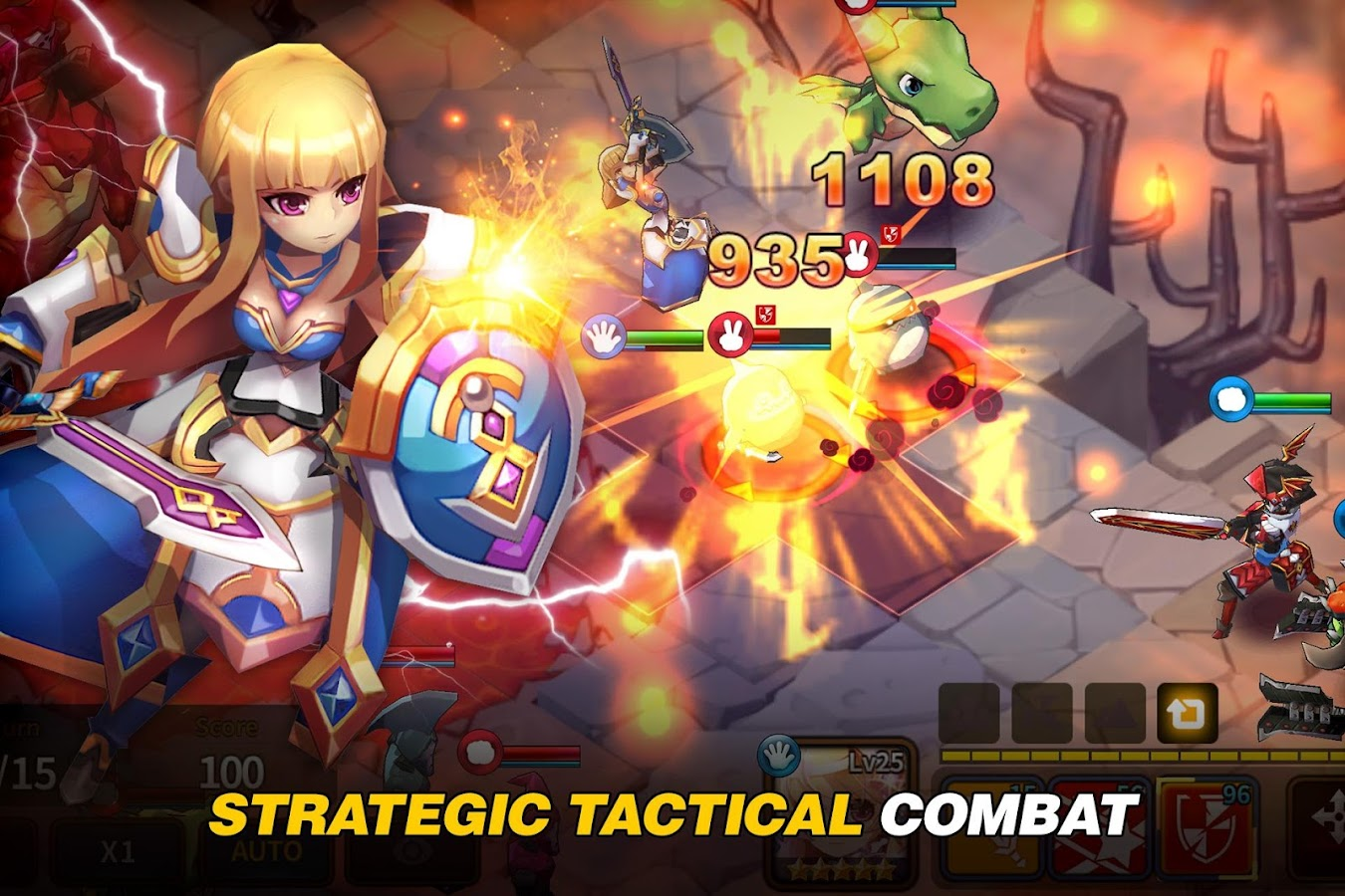 Fantasy War Tactics Screenshot 2