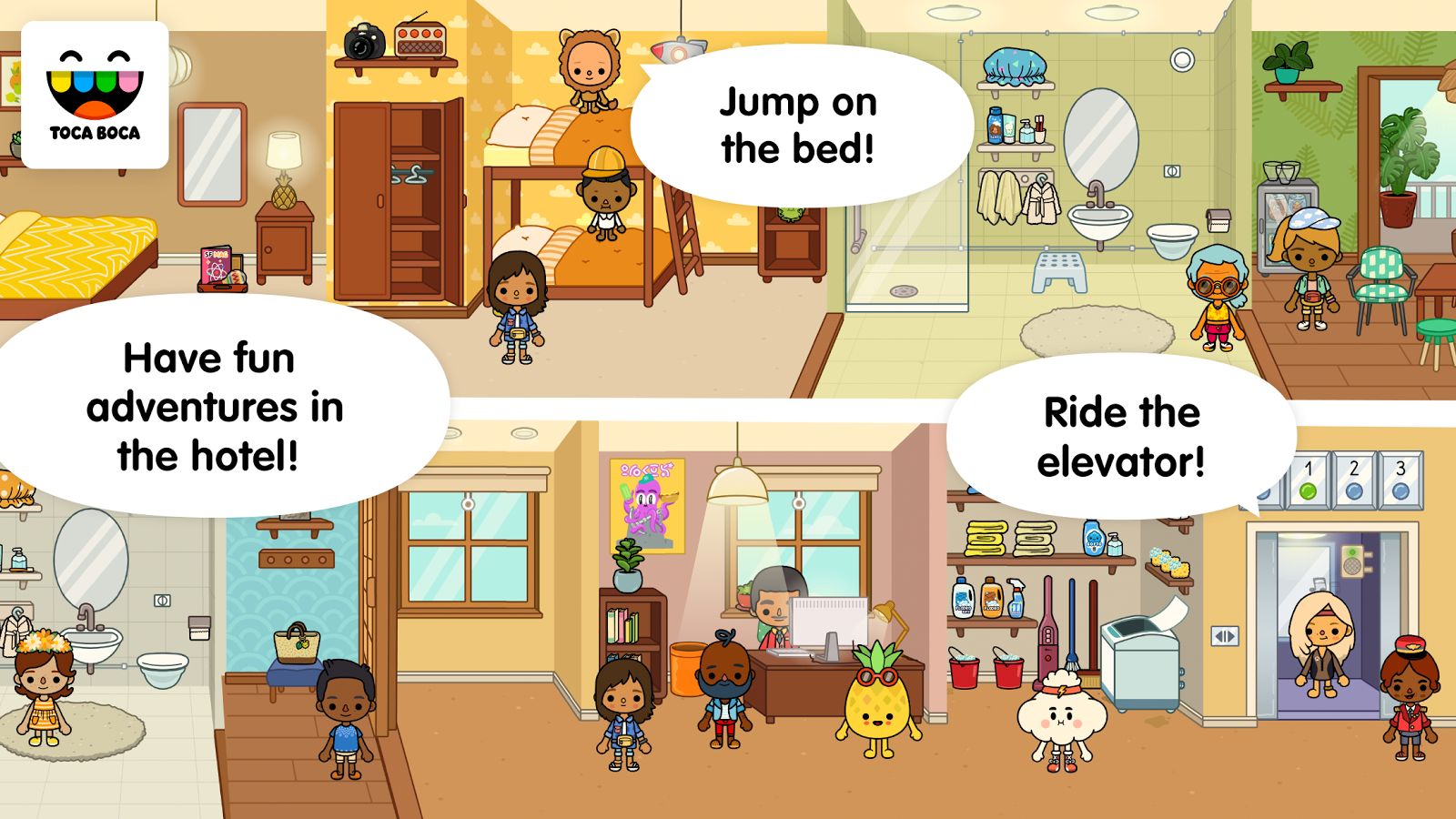 Toca Life: Vacation Screenshot 13