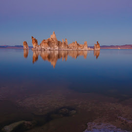 Mono Lake by Bodz Villavert - Landscapes Sunsets & Sunrises ( nature, mono lake, california, lakes, tuffa, sunrise, landscape )