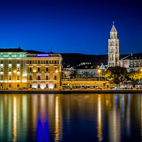 Split by Mislav Glibota - City,  Street & Park  Night (  )