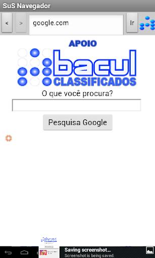 SuS Navegador screenshot 3