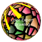 Color Expert Drawing - Free Icon