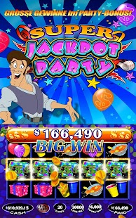 Jackpot Party Casino - Spielautomaten Online Screenshot