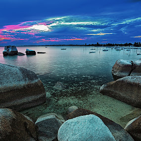 rocks, rocks, and more rocks....  by Henry Pribadi - Landscapes Waterscapes ( #mariowibowo, #belitung, #mwptrip )
