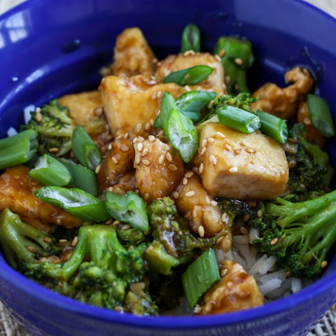 Sesame Broccoli Tofu