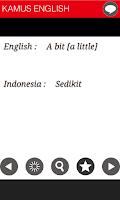 Screenshot of KAMUS - ENGLISH - INDONESIA