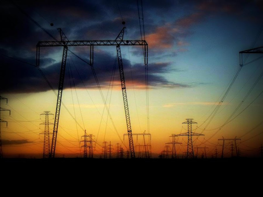 Electric pylons by Other Side - Products & Objects Technology Objects ( pylon, electric )