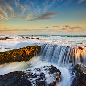 Incredible Lima by Hendri Suhandi - Landscapes Beaches ( sunset, mood, flow, beach, motion, lima )