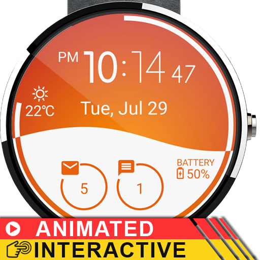 Morphing Watch Face - screenshot