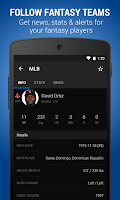Screenshot of theScore: Sports & Scores