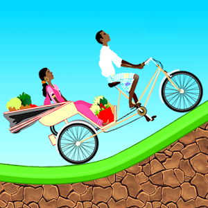Hack Rickshaw Racing Hill Climb game