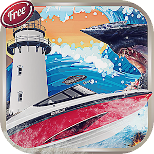 Boat Games - Turbo Boats Racer