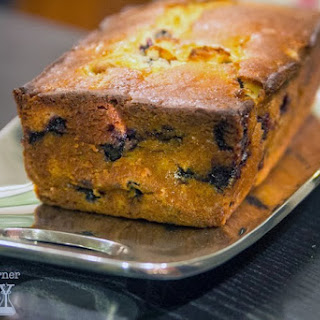 Blueberry Honey Bread