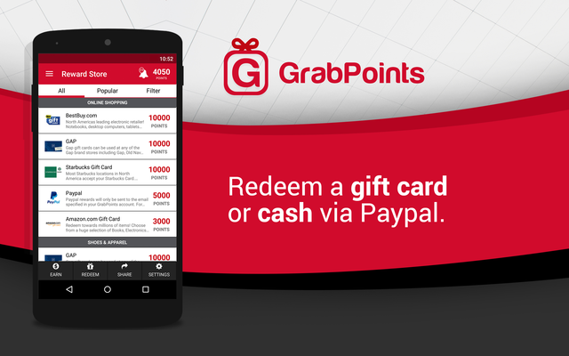 GrabPoints - Free Gift Cards Screenshot 4