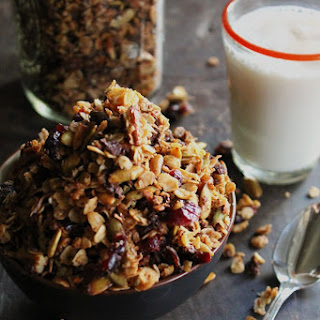 Cranberry Chocolate Coconut Granola