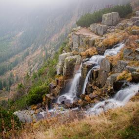 Pančavský vodopád by Robert Grim - Landscapes Mountains & Hills ( water, nature, waterfall, fotografia, czech, czech republic, foto,  )