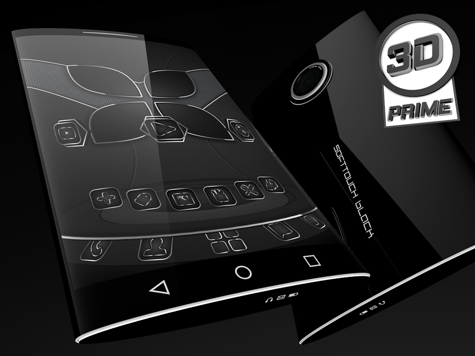 SoftTouch Black - Next Theme Screenshot 1