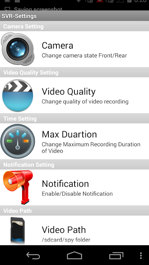 Secret Video Recorder Pro Screenshot 3