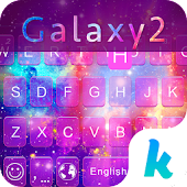 Galaxy2 Kika Keyboard Theme Icon