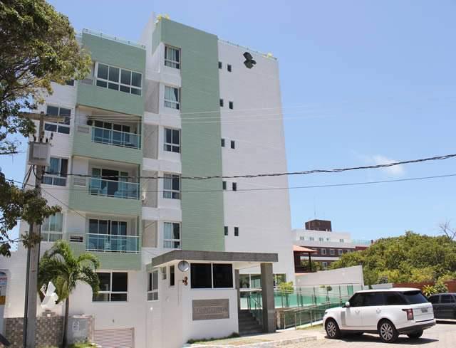 Apartamento com 2 dormitórios à venda, 59 m² por R$ 385.000 - Cabo Branco - João Pessoa/PB