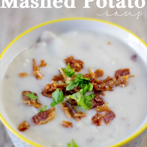 Leftover Mashed Potato Soup
