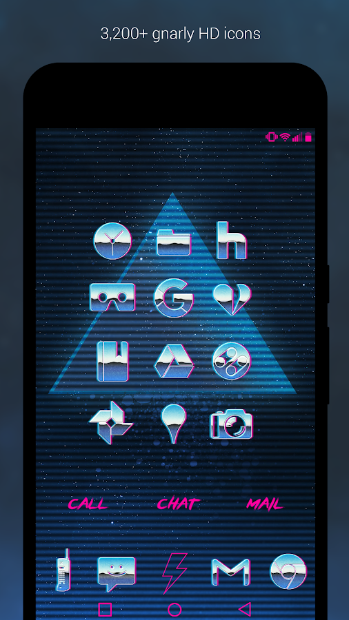 Rad Pack Pro - 80's Theme Screenshot 1