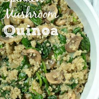 Quinoa Mushroom Spinach Recipes