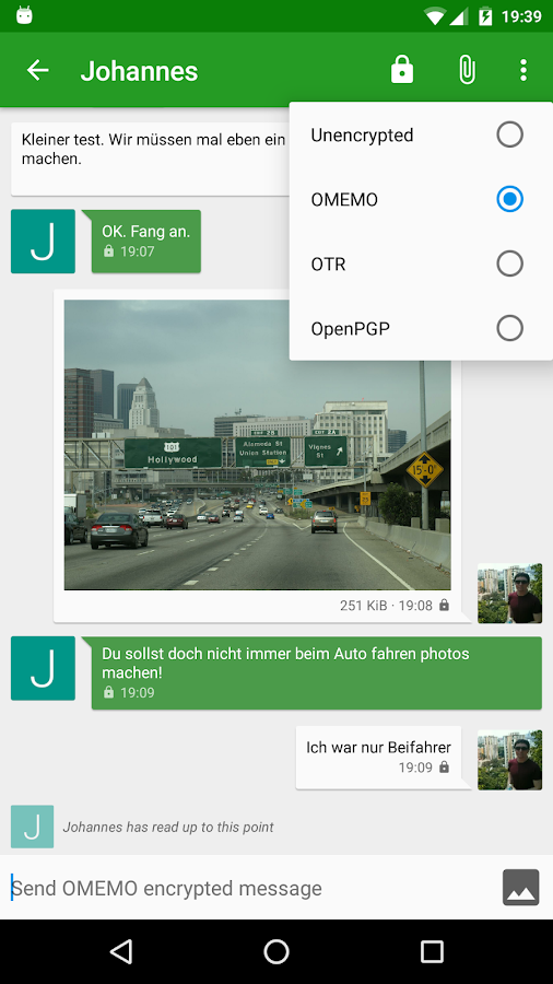Conversations (Jabber / XMPP) Screenshot 1