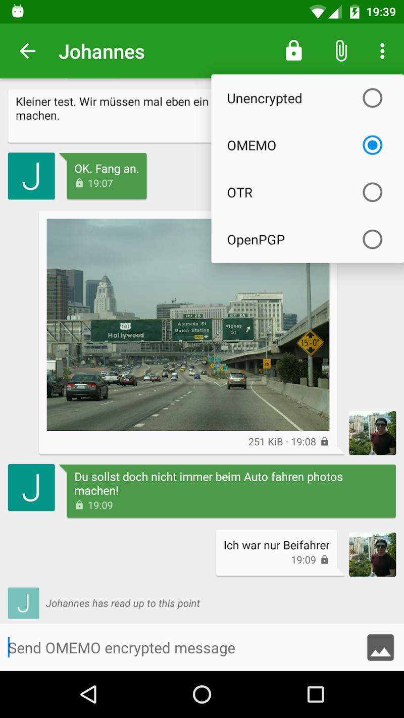Conversations (Jabber / XMPP) Screenshot 1