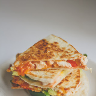 Spicy Stuffed Turkey Quesadilla