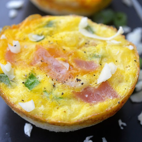 Ham & Cheese Breakfast Egg Muffins