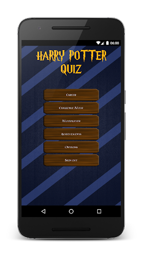 Fanquiz for Harry Potter - screenshot