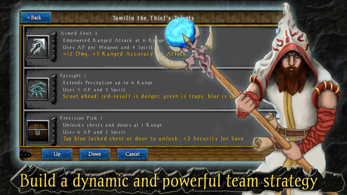 Heroes of Steel RPG Elite Screenshot 4