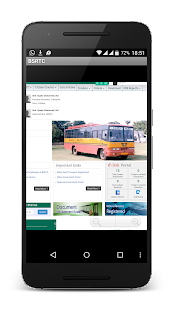 BSRTC-Bihar Bus India - screenshot