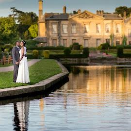 Combe Abbey Patk by Piotr Sliwinski - Wedding Bride & Groom ( wedding photography, peterplumphotography, bestoftheday, bride, groom )