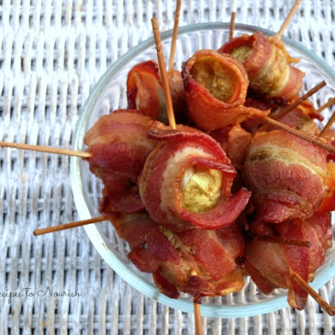 Bacon Wrapped Brussels Sprouts
